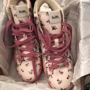 Coach floral high tops